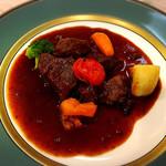 入栄軒 - 松阪牛のホホ肉の赤ワイン煮込み