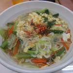 石焼ビビンパ - 温麺
