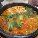 石焼ビビンパ - ユッケジャン麺