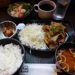 わすれん棒 - 生姜焼き定食¥880-