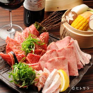 産地・銘柄を縛らず、その日の美味しいお肉をリーズナブルに提供