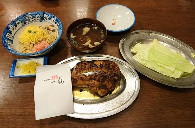 一鶴 屋島店 - 骨付鶏と鶏めし 2017.11