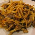 77186037 - 高菜と豚肉炒め定食