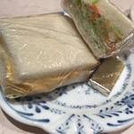 ゴルド カフェ - モーニングのサンドイッチ
