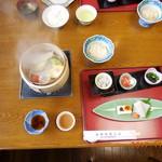 箱根強羅山荘 - 朝食も手が込んでいました。