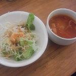 7719188 - ランチ サラダ&スープ