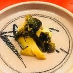 くずし懐石 縁 - アワビのステーキ。