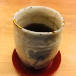 くずし懐石 縁 - 最後はほうじ茶で。