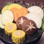 焼き野菜六種盛り