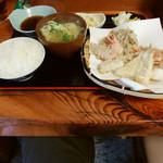 Tempurayasuda - 盛り合わせ定食