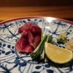 海舟 - 料理写真:すっぽんの刺身