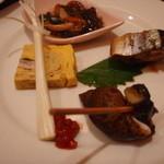 ヒロズシ - 料理写真:前菜