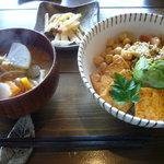 7720085 - ランチ(豆と野菜の有機玄米丼)