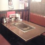 喃風 - テーブル席・・・落ち着いた雰囲気のお席です