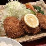 とんかつせんのき - ヒレかつ定食(918円)