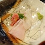ebisunokakuregasakanayakorosuke - 真サバの味噌焼とお刺身ランチ(1,000円)