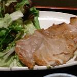 旬彩料理 てん - 豚ロースの塩焼き