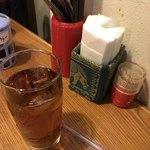 77201372 - ランチセットのアイスウーロン茶