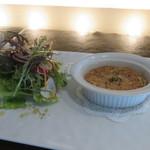 MILLE - 秋刀魚とじゃがいものブランダードと季節の野菜