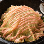 津多家 - ドームの下は、野菜たっぷり麺