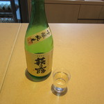 シガズ バー - 吟醸純米酒「萩乃露」300円