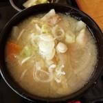 おふくろの味 3・5食堂 - 豚汁