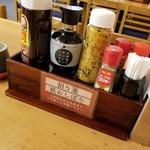 おふくろの味 3・5食堂 - 調味料
