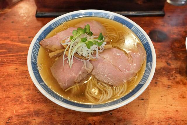 中華そば しば田>