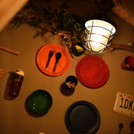 Meat Camp - [B1F 個室席] デートや宴会に最適なテーブル席。雰囲気はキャンプそのもの♪