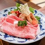 近江肉せんなり亭 伽羅 - すき焼きセット