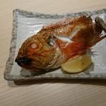 すし屋銀蔵 - カサゴの姿焼き
