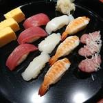 すし屋銀蔵 - にぎり寿司(4カン・玉子つまみ)