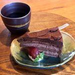 さんぽみち - 料理写真:ケーキセット