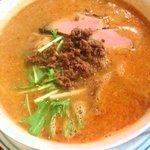 担々亭 - 四川坦々麺850円