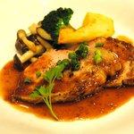 ロマラン - 熱々パスタコース 豚肉のグリル