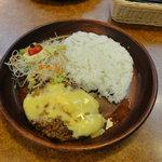 Bikkuridonki - チーズバーグディッシュの150g(680円)