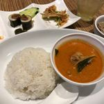 シミラン - 鶏肉とタケノコのレッドカレー 1300円