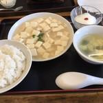 77211307 - 日替わり定食は蟹肉と豆腐の塩煮込み