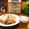 ハサミヤ - 料理写真:ルーベンサンド & ハートランドビール