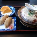 姫松屋 - ・具雑煮定食 梅 1200円