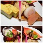 博多の砦 会席・日本料理 和食華彩都 - 料理写真:*「鰆の幽庵焼き」「明太子」「玉子焼き」「煮物」など。