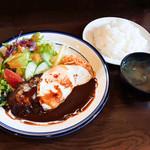 洋食 ひなた - デミグラスハンバーグ定食