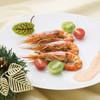 カフェレストラン セリーナ - 料理写真:「赤エビのニューバーグソース」クリスマスバイキング パフォーマンスコーナー ※12/22~12/25