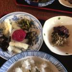 たんば茶屋 - 京漬物とジャコ