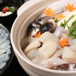 新鮮で美味しいお魚はお鍋でも堪能できます