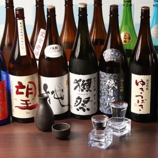 全国各地より仕入れる日本酒がたのしめるお店
