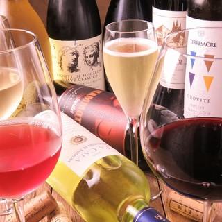 イタリアワイン飲み比べやってます♪