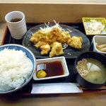 7722067 - 「鶏天定食」750円