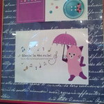 7722346 - 店内には、かわいい猫のポスターがいっぱい(*^_^*)