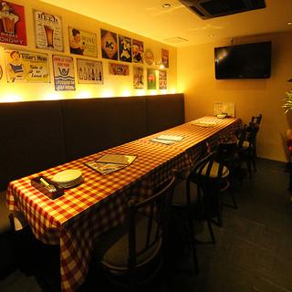 【完全個室】ゆったり広々テーブル個室!
